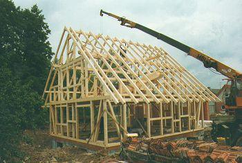 Holzskelettbauweise  Holzbau Hein - Holzbau